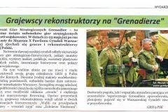 gazeta grajewska grenadier 2016